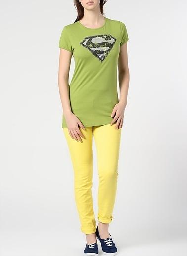 Supergirl Tişört Yeşil